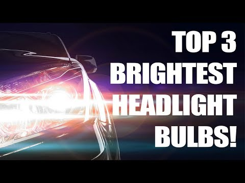 Top 3 Brightest Headlight Bulbs Tested (Halogen)