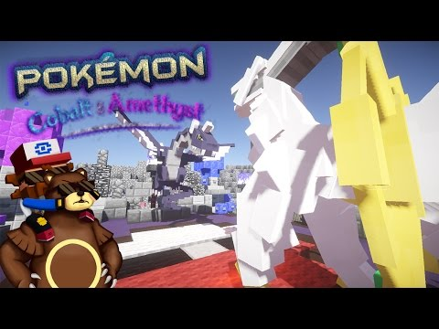 POKEMON EN MINECRAFT SIN MODS! Pokémon Cobalt & Amethyst