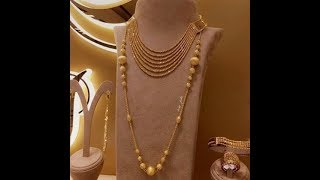 Latest Light weight gold Chain |Pendant |Necklaces Designs