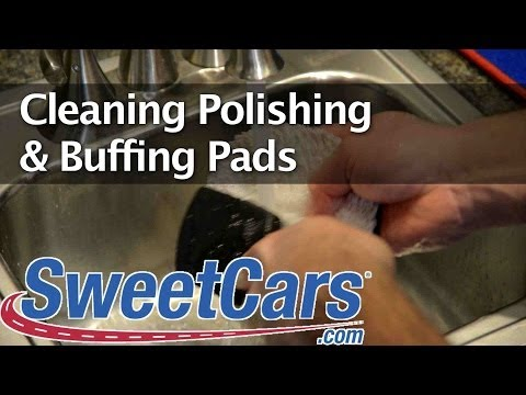 Cleaning Polishing & Buffing Pads - SweetCars Minute Detailing 40