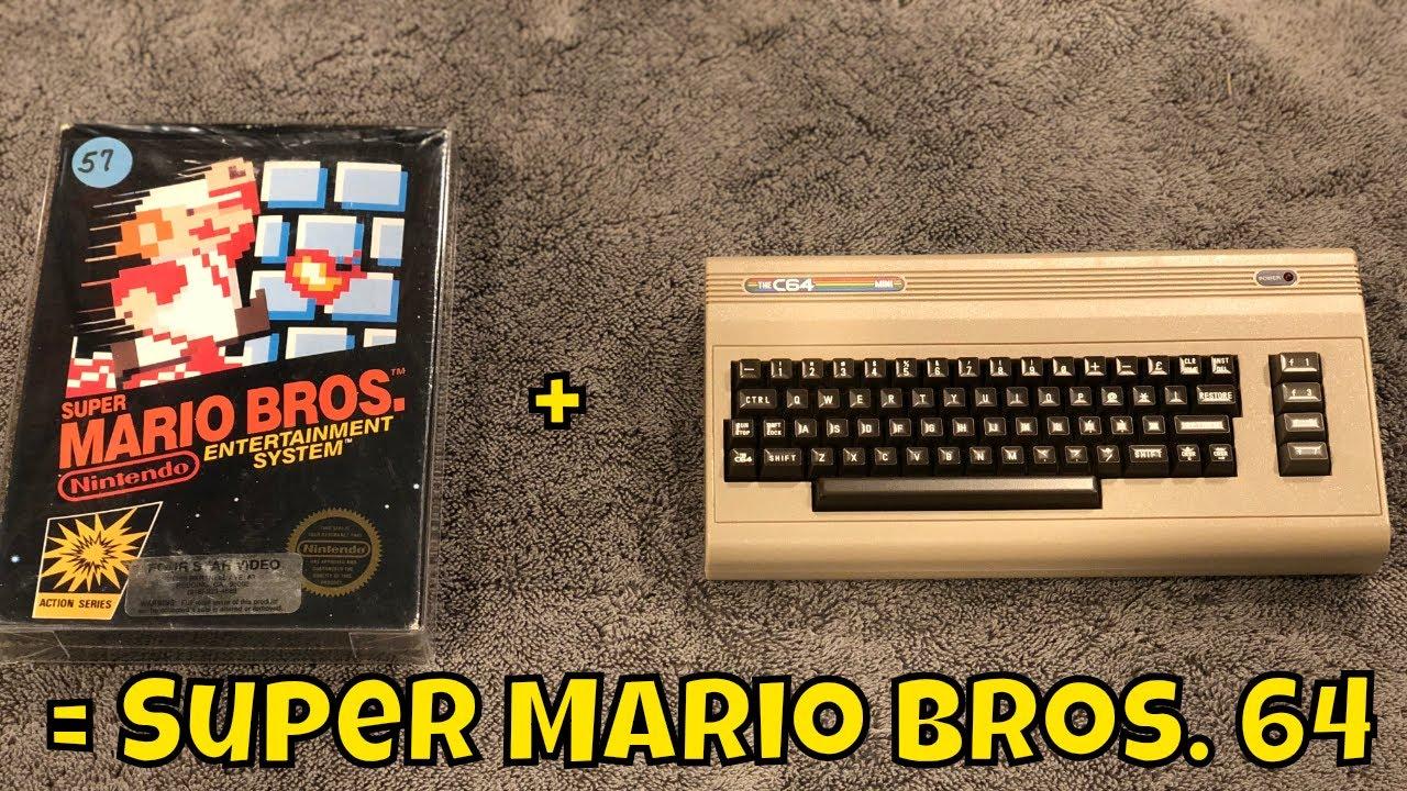 Super Mario Bros  Now on the Commodore 64!