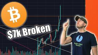 Bitcoin has taken off 🚀- Breaks $7k - Live Chatting