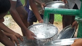 Community & Correspondent ensure drinking water for School Kids.