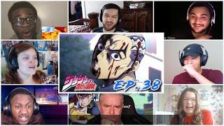 Okuyasu is back!! Josuke vs Kira Part 2  Reaction Mashup!! JJBA : Diamond is Unbreakable Ep 38