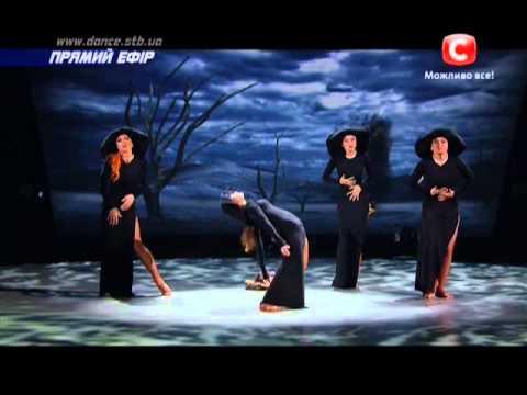 Видео, Танцуют все 6 сезон - Танцуют девушки. танец Одиночество - Второй прямой эфир 06.12.2013