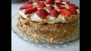Торт из творога (подробный рецепт приготовления)