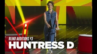 "Huntress D.  ""California Love"" - Blind Auditions #3 - TVOI 2019"