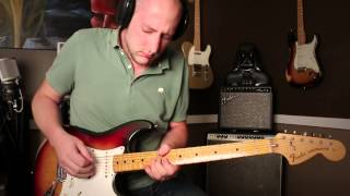 Axe Fx 2: Stevie Ray Vaughan - The Sky is Crying Played by Tyler Grund
