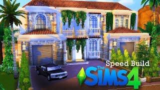 SPEED BUILD - Hiszpański Domek - The Sims 4