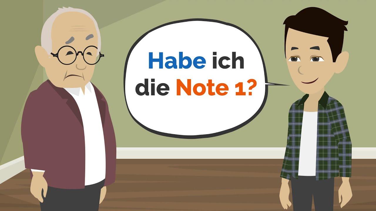 Deutsch lernen | Gespräch mit meinem Lehrer!
