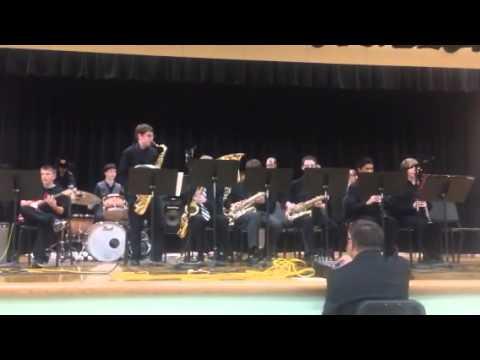 Alki Middle School Jazz Band - Night Train