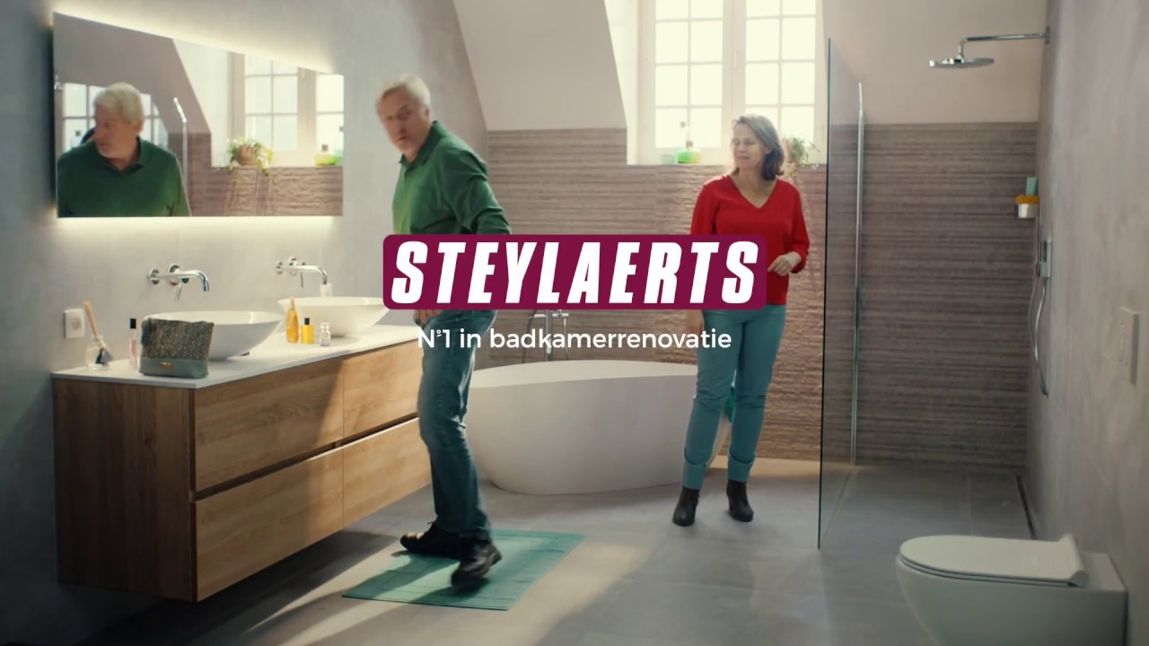 Steylaerts Badkamerrenovatie - YouTube