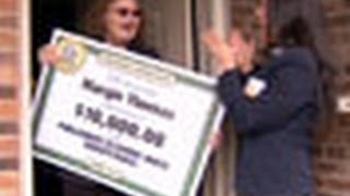 Publishers Clearing House $10,000 Winner Margie T.