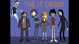 Заставка к сериалу Компьютерщики / The IT Crowd Opening Credits