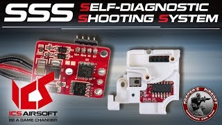 [Tech] ICS SSS (Self-Diagnostic Shooting System) EFCU, Mosfet - 6mm Airsoft/Softair - 4K UHD