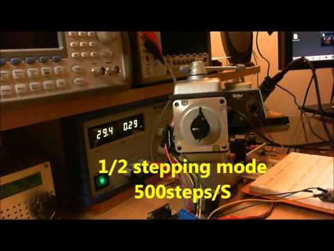 Unipolar Stepping Stepper  Motor Driver Up To 1/64 Micro Stepping Mode