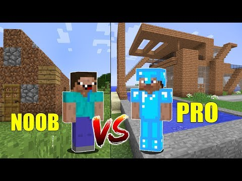 MINECRAFT - NOOB VS PRO (parte 1)