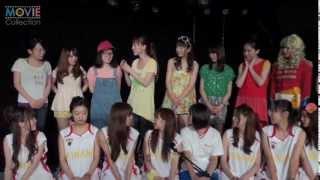 W-Speak 第7回公演「カンキン!?」の舞台稽古と囲み取材が2013年7月11日...