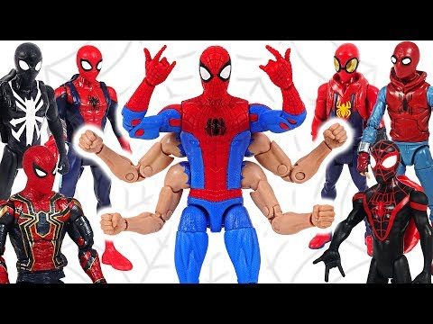 Marvel Avengers Spider-Man Six-Arm! Win the fight against villains! #DuDuPopTOY