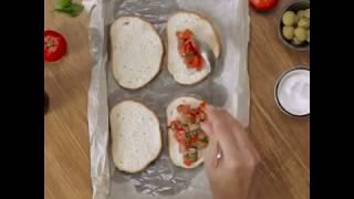 Горячий бутерброд с курицей