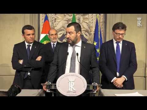 Consultazioni gruppi lega salvini premier del senato for Funzioni della camera dei deputati