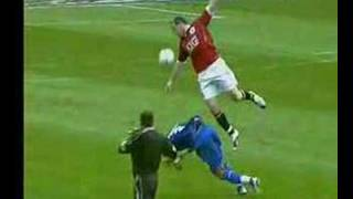 Manchester United vs Porto - Wayne Rooney Red Card
