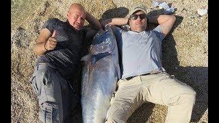 Türkiye'den Dünya Rekoru - Kıyıdan 178 cm/85 kg Mavi Yüzgeçli Orkinos