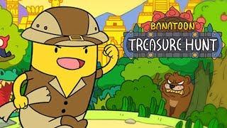BANATOON Treasure Hunt! Прикольные Приключения Про Археолога Банана