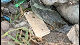 Found an abandoned phone in Rubbish   Restoration Destroyed iPhone 6s   New rebuild 2020