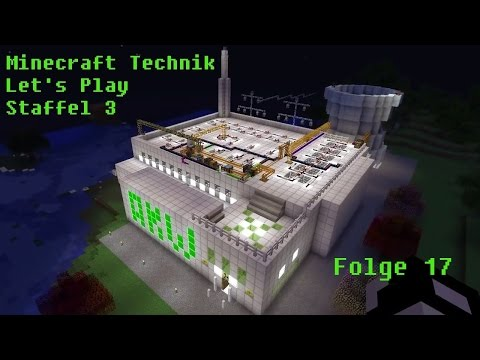 #17 - Minecraft Technik LP - Uranium Fuel Rods und Reactor Heat Vents