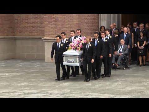 USA : funérailles de l'ex-Première dame Barbara Bush