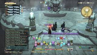 FFXIV: Stormblood Gameplay - 07 - White Mage - The Lost City of Amdapor (Hard)