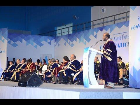 Shiv Nadar University - Convocation 2016 - Chancellor's Address