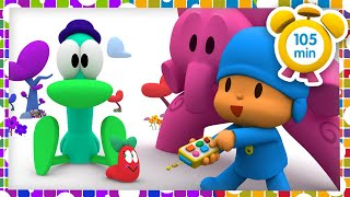 ❤️️POCOYO in ENGLISH -Pocoyo's favorite episodes [105 min] Full Episodes |VIDEOS & CARTOONS for KIDS