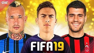 LA JUVE OFFRE DYBALA AL PSG?! TOP 10 TRASFERIMENTI ASSURDI IN FIFA 19! [Morata, Nainggolan, Mahrez]