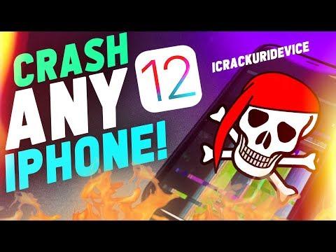 Crash ANY IPhone! - Major IOS 12 Bug (Prank Friends)