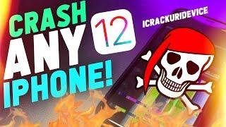Crash Any Iphone! - Major Ios 12 Bug  Prank Friends