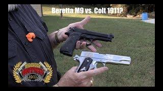 The Beretta M9 9mm Pistol