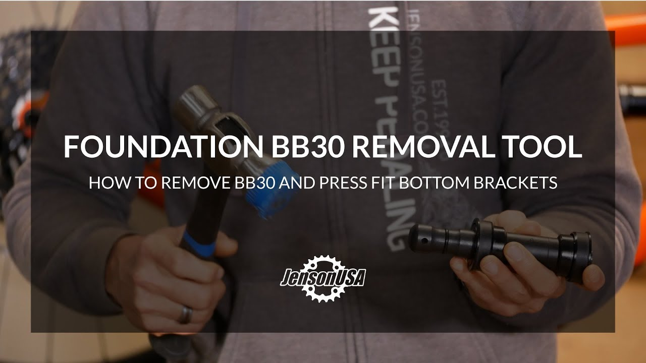 How To Remove Bb30 Press Fit Bottom Brackets With The Foundation Bb30 Removal Tool