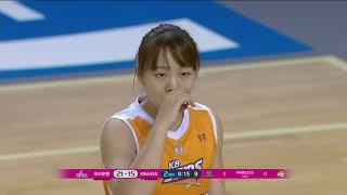 WKBL 여자농구 [KB스타즈 : 우리은행] 우리은행의 압도적인 페이스!.20181129