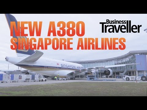 NEWS: Singapore Airlines New A380 Delivery - Business Traveller