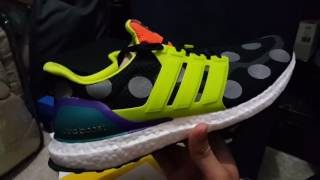 1st ever review on limited adidas ultra boost collab consortium x kolor is it worth the hype