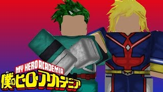 My Hero Academia! | Good Ol Blox No Hero | ROBLOX | iBeMaine