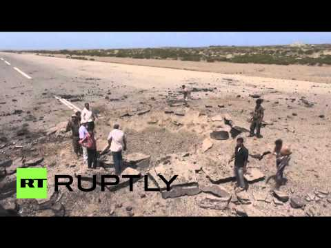 Yemen: Saudi-led jets wreck Hodeida airport runway