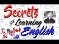 Secrets for Learning ENGLISH (Segreti per IMPARARE BENE L'INGLESE)