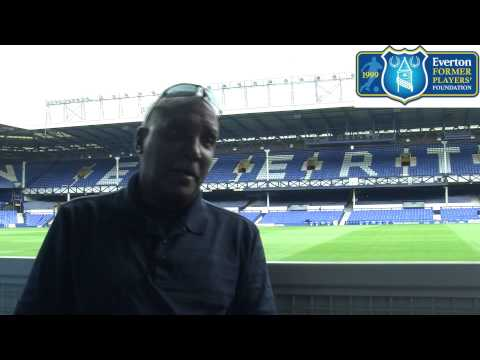 Everton Former Players' Foundation interview former Blue Cliff Marshall