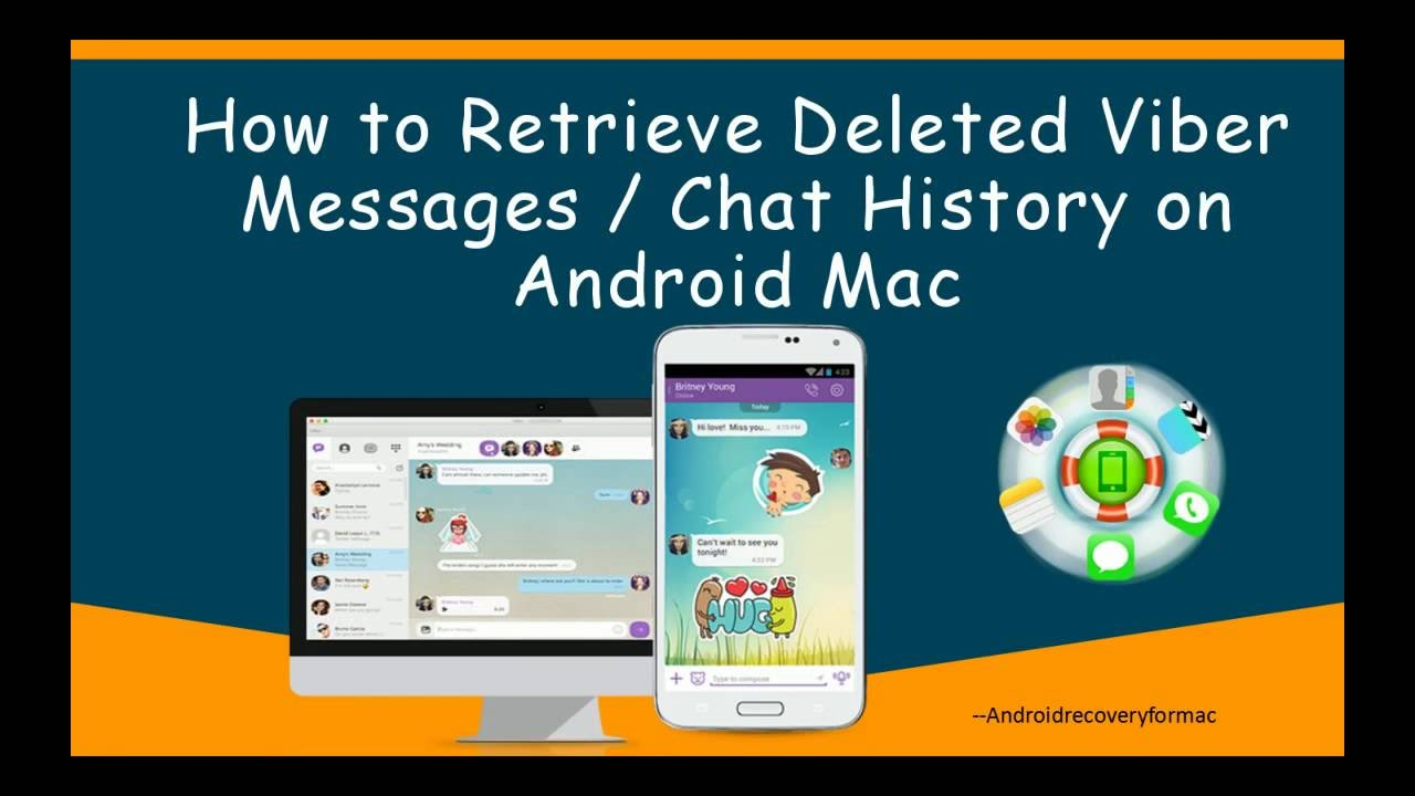 How to Retrieve Deleted Viber Messages Chat History on Android Mac