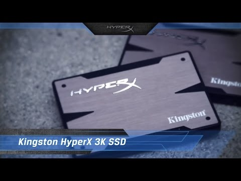 HyperX 3K SSD is a great drive for gaming