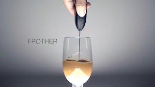 [마켓비TV] 내 컵안의 ⟳소용돌이⟲ 'FROTHER'…