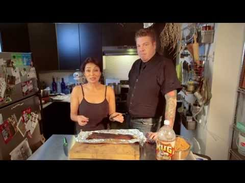 "Chipotle Ribs w/ Rob Burmeister (""Chopped"" & ""Cutthroat Kitchen"")"
